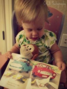 Becca reading