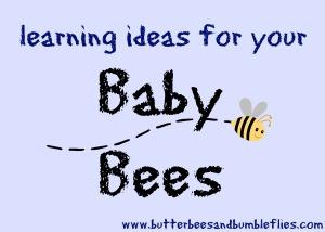 baby bees header