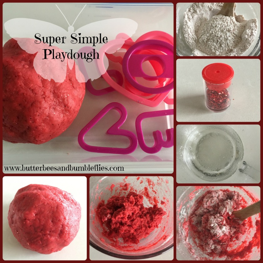 super simple play dough