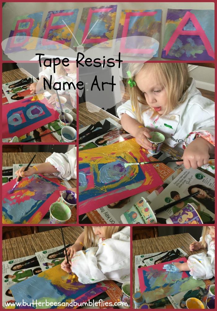 mar 19 tape resist name art