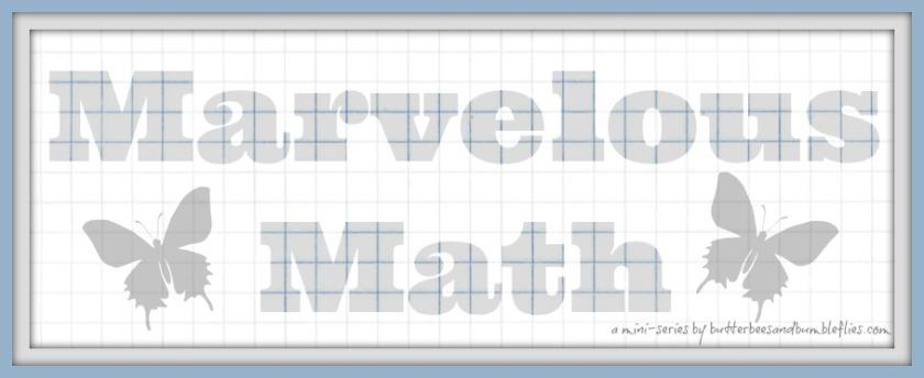 marvelous math header