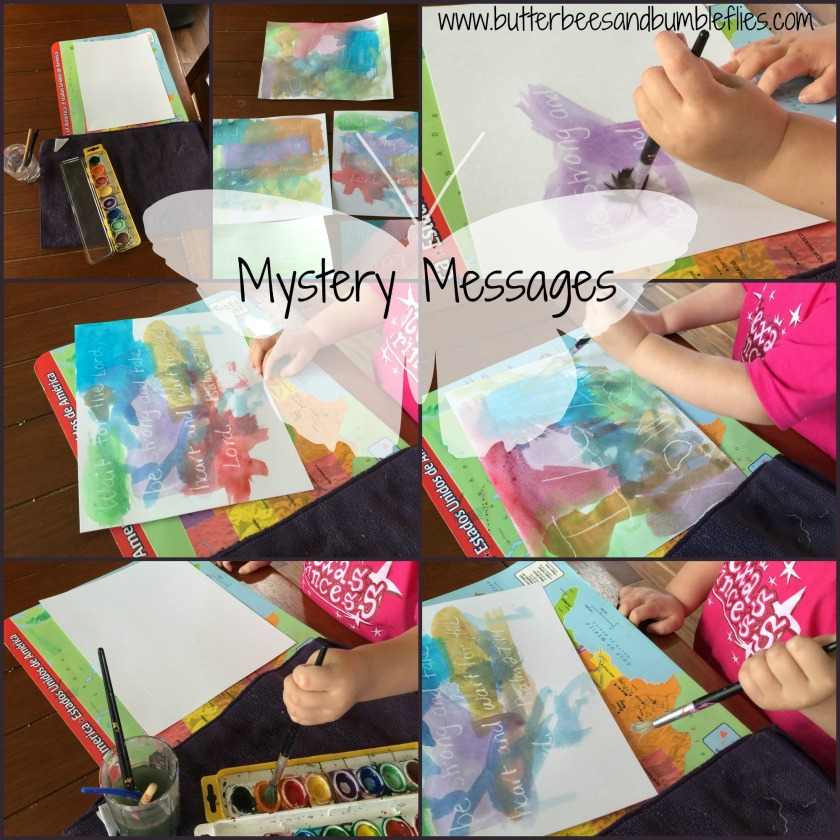 mystery messages
