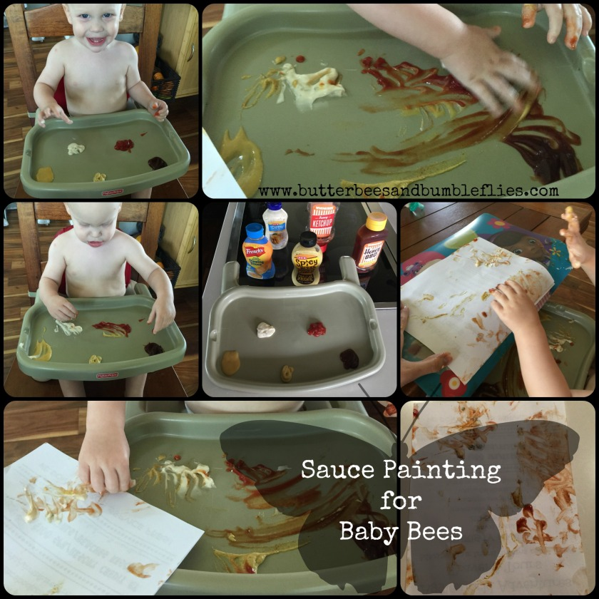 sauce painting