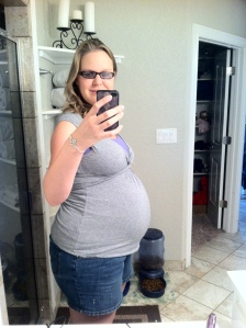 2 weeks before delivery