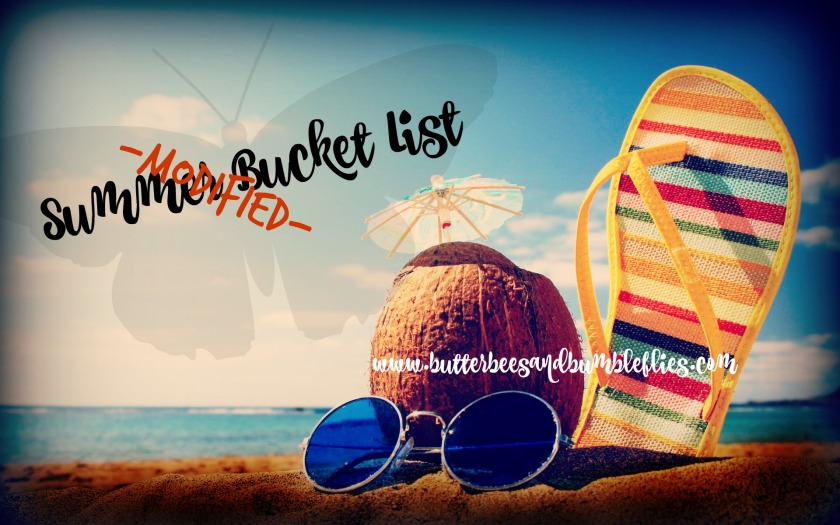 summer bucket list modified